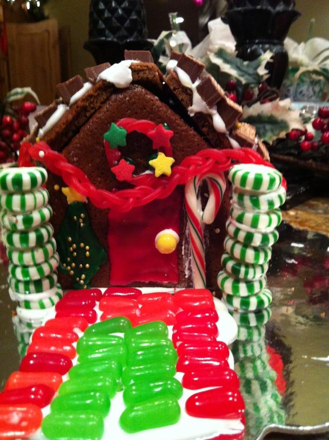 Gingerbread House, Frt., 2012