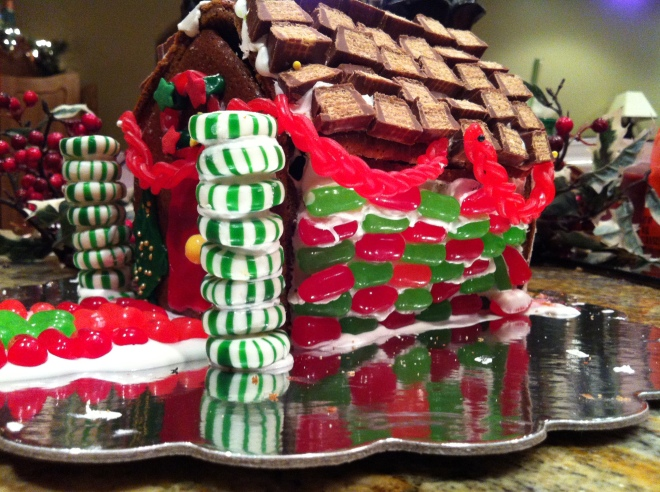 Gingerbread House, Side, 2012