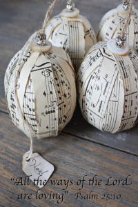 Music Ornament:Love