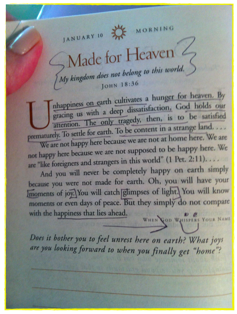 """Grace"" by Max Lucado Excerpt from ""When God Whispers Your Name."""