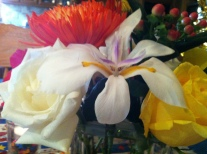 I made this with love, and inspiration on pintrest, to honor you with beauty from God's Garden of life for you.