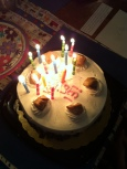 Kathleen, birthday cakes light up our days, as you light up mine with your goodness! Mom