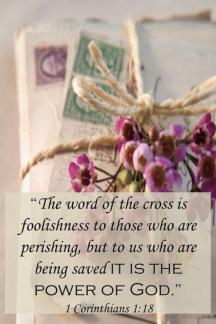 Bound Love Letters/1 Corinthians 1:18
