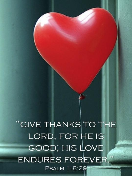 Psalm 118:29