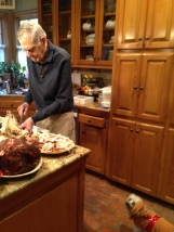 Uncle Billy Carves Turkey