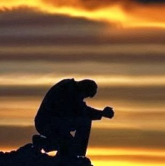 prayer sunrise image