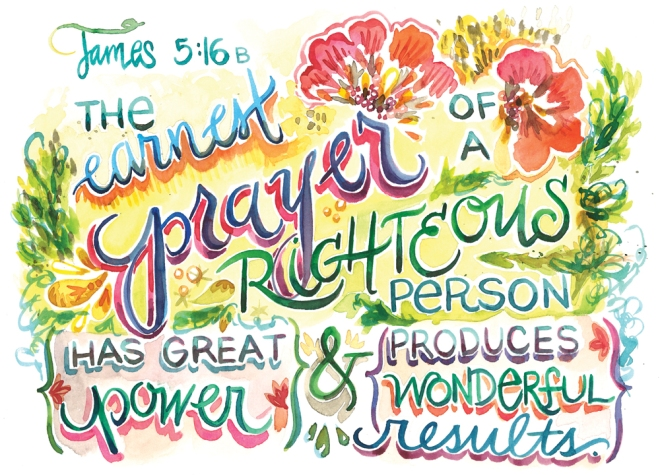 Amarilys Henderson Earnest Prayer James516 watercolordevo.etsy.com